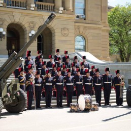 Royal band of Canadian Artillery